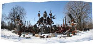 Tom Every sculpture - Forevertron