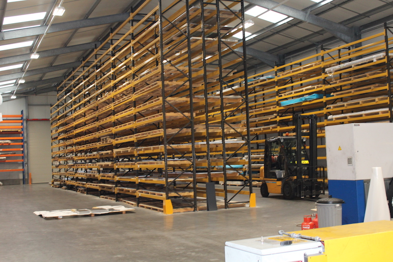 Dore Metals New Warehouse